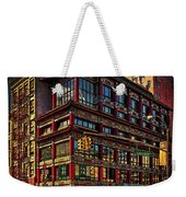 Canal And Center Streets New York City Weekender Tote Bag