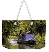 Canal Boat Weekender Tote Bag
