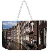 Canal Houses Weekender Tote Bag