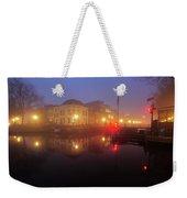 Canal Lock Weerdsluis In Utrecht In The Evening 9 Weekender Tote Bag