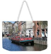 Canal Lunch Weekender Tote Bag