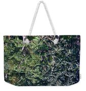 Canal Reflections Abstract Weekender Tote Bag