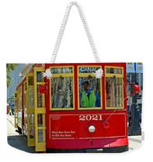 Canal Street Cable Car Weekender Tote Bag