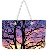 Canal  Winter Sunset  Pt Weekender Tote Bag