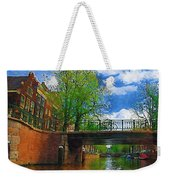 Canals Of Amsterdam Weekender Tote Bag