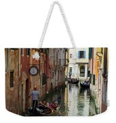 Canals Of Venice Italy Weekender Tote Bag