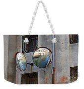 Canals Reflected In Mirrors In Venice Italy Weekender Tote Bag