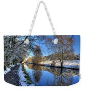 Canalside Winter Wonderland Weekender Tote Bag