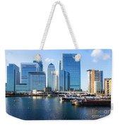 Canary Wharf 9 Weekender Tote Bag