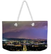 Canberra Stormy Night Weekender Tote Bag