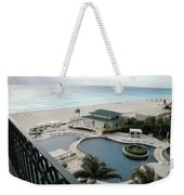Cancun Beach Resort Weekender Tote Bag