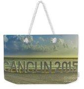 Cancun In 2015 Weekender Tote Bag