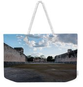 Cancun Mexico - Chichen Itza - Great Ball Court - Open End Weekender Tote Bag