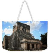 Cancun Mexico - Chichen Itza - Temples Of The Jaguar On The Great Ball Court Weekender Tote Bag