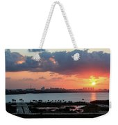 Cancun Mexico - Sunrise Over Cancun Weekender Tote Bag