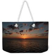 Cancun Mexico - Sunset Over Cancun Weekender Tote Bag