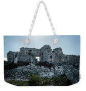 Cancun Mexico - Tulum Ruins - Palace Weekender Tote Bag