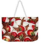Candied Strawberries Weekender Tote Bag