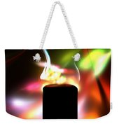 Candle And Colors Weekender Tote Bag
