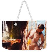 Candle In The Sunlight Weekender Tote Bag