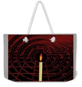 Candle Of Faith And Hope Weekender Tote Bag
