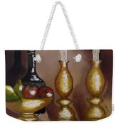 Candle Sticks Weekender Tote Bag