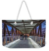 Candlelight Hike  Weekender Tote Bag