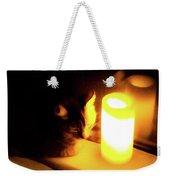 Candlelight Weekender Tote Bag