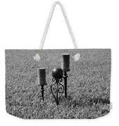 Candles In Grass Weekender Tote Bag