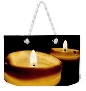 Candles In The Dark Weekender Tote Bag