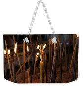 Candles Weekender Tote Bag