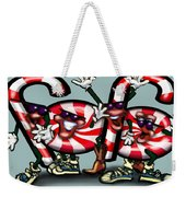 Candy Cane Gang Weekender Tote Bag