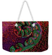 Candy Cane - Hawaiian Style Weekender Tote Bag