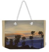 Candy-floss Sunset Weekender Tote Bag