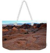 Candy Cliffs Sunset Weekender Tote Bag