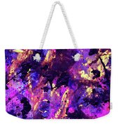 Candy Colours Abstract Weekender Tote Bag