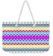 Candy Glitch Weekender Tote Bag