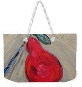 Candy Red Weekender Tote Bag