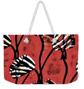 Candy Stripe Tulips 2 Weekender Tote Bag