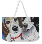 Canine Friends Weekender Tote Bag