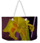 Canna Flower Weekender Tote Bag