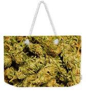 Cannabis Bowl Weekender Tote Bag