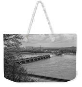 Cannelton Locks And Dam Weekender Tote Bag
