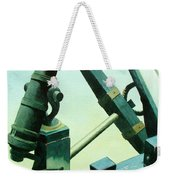 Cannon And Anchor Weekender Tote Bag