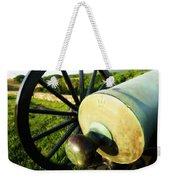 Cannon At Antietam Weekender Tote Bag
