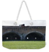 Cannon At Fort Pickens Weekender Tote Bag