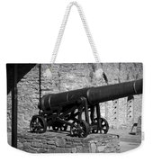 Cannon At Macroom Castle Ireland Weekender Tote Bag