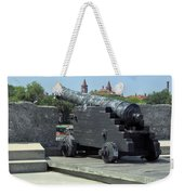 Cannon At The Castillo Weekender Tote Bag