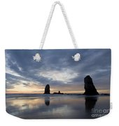 Cannon Beach At Sunset 5 Weekender Tote Bag