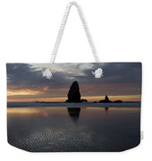Cannon Beach At Sunset 7 Weekender Tote Bag